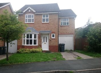 Thumbnail 4 bed detached house to rent in Woodridge Avenue, Quinton, Birmingham