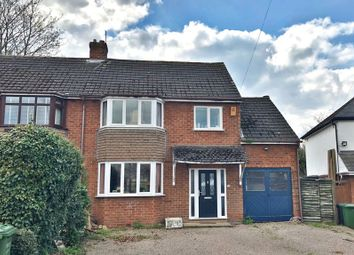 Thumbnail 4 bed semi-detached house for sale in Chequers Lane, Wychbold, Droitwich