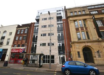 Thumbnail 1 bedroom flat for sale in Charles Street, Leicester
