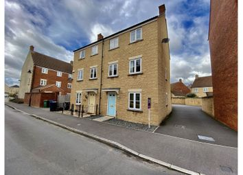 Thumbnail 3 bed semi-detached house for sale in Linnet Road, Calne