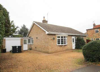 Thumbnail 2 bed detached bungalow for sale in Butts Lane, Wicken, Ely