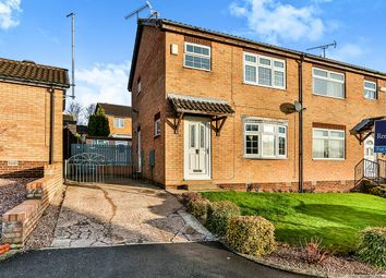Thumbnail 3 bed semi-detached house for sale in Birkbeck Court, High Green, Sheffield