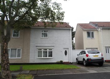 Thumbnail 2 bed semi-detached house for sale in Killingworth Avenue, Backworth, Newcastle Upon Tyne