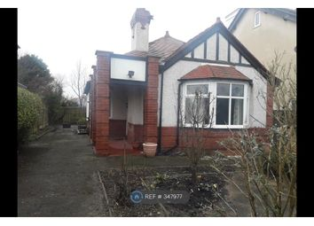 Thumbnail 3 bed bungalow to rent in Rossall Road, Thornton-Cleveleys
