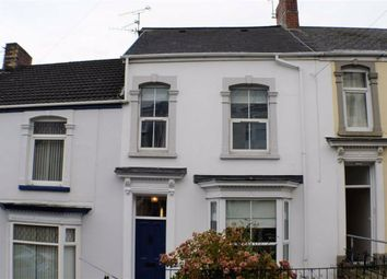Thumbnail 4 bed terraced house for sale in Glanmor Crescent, Swansea