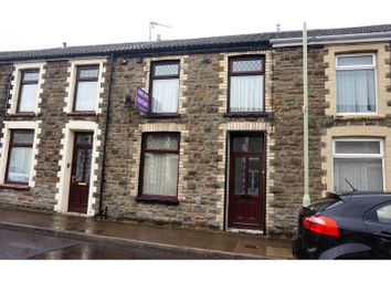 Thumbnail 2 bed terraced house for sale in Whitefield Street, Pentre