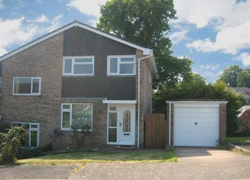 Thumbnail 3 bed semi-detached house to rent in Priddis Close, Exmouth
