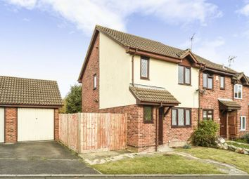 Thumbnail 3 bed end terrace house for sale in Ashmere Close, Calcot, Reading