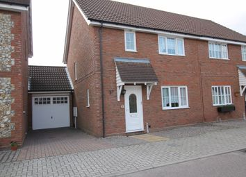 Thumbnail 3 bed terraced house to rent in Cuckoo Way, Great Notley, Braintree