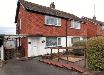 Thumbnail 2 bed semi-detached house for sale in Norfolk Road, Walton Le Dale, Preston