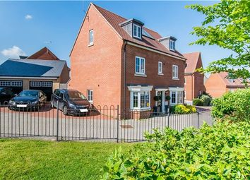 Thumbnail 5 bed detached house for sale in Allard Way, Saffron Walden