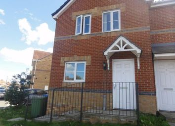 Thumbnail 3 bed semi-detached house to rent in Wellfield Court, Murton, Seaham