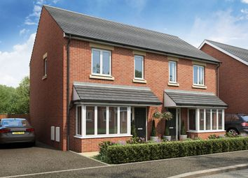 Thumbnail 2 bed semi-detached house for sale in Burton Road, Castle Gresley, Swadlincote