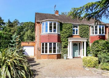Thumbnail 5 bed detached house for sale in Woodlands Close, Ascot