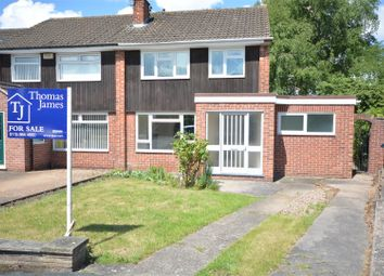 Thumbnail 3 bed semi-detached house for sale in Spencer Close, Ruddington, Nottingham
