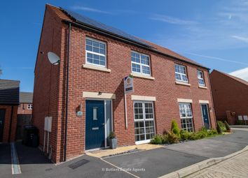 Thumbnail 3 bed semi-detached house for sale in Orange Birch Close, Clowne, Chesterfield