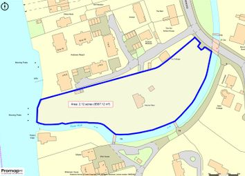 Thumbnail Land for sale in Hedsor Road, Bourne End, Buckinghamshire