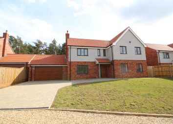 Thumbnail 5 bed detached house for sale in Wormegay Road, Plot 2, Blackborough End, King's Lynn
