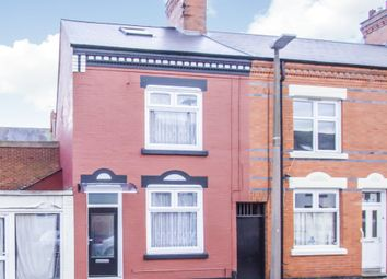 Thumbnail 4 bed terraced house for sale in Haddon Street, Highfields, Leicester