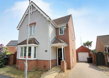 Thumbnail 3 bed detached house for sale in Covent Garden Road, Caister-On-Sea, Great Yarmouth