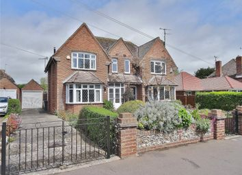 Thumbnail 3 bed semi-detached house for sale in Offington Avenue, Worthing, West Sussex