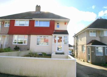 Thumbnail 3 bed semi-detached house for sale in Churchway, Plymouth