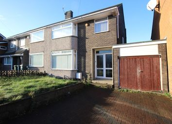 Thumbnail 3 bed semi-detached house for sale in Lawrence Avenue, Blaydon-On-Tyne