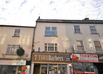 Thumbnail 3 bed flat for sale in Gold Street, Tiverton, Devon