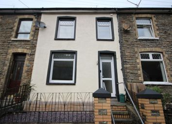 Thumbnail 3 bed terraced house for sale in Gwyddon Road, Abercarn, Newport