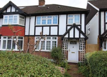 Thumbnail 3 bed end terrace house for sale in Nightingale Road, Carshalton