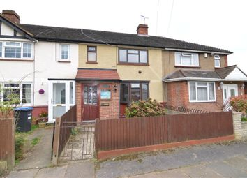 Thumbnail 3 bed terraced house for sale in Stoneleigh Avenue, Enfield, Greater London