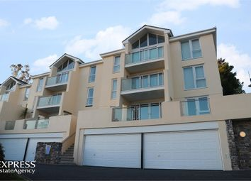 Thumbnail 3 bed flat for sale in Ilsham Marine Drive, Torquay, Devon