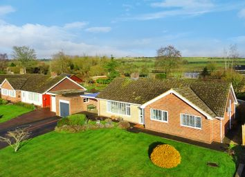 Thumbnail 3 bed detached bungalow for sale in Downs Close, Eastbury, Hungerford