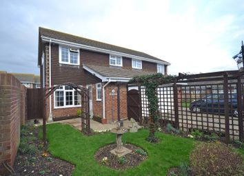 Thumbnail 3 bed semi-detached house for sale in Saddle Lane, Selsey