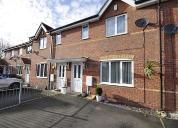 Thumbnail 3 bed terraced house to rent in Greenville Croft, Chellaston, Derby