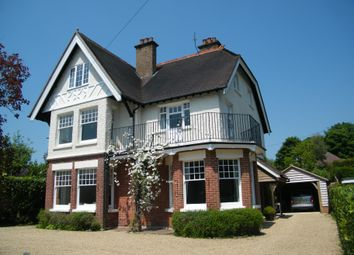 Thumbnail 6 bed detached house to rent in Church Road, Crowborough