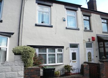 Thumbnail 4 bedroom terraced house to rent in Sackville Street, Basford, Stoke-On-Trent