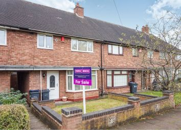 Thumbnail 3 bed terraced house for sale in Pear Tree Road, Birmingham