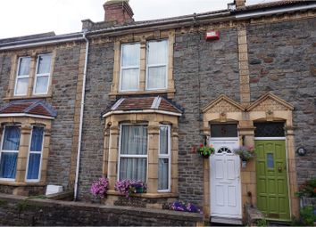 Thumbnail 3 bed terraced house for sale in Rozel Road, Horfield