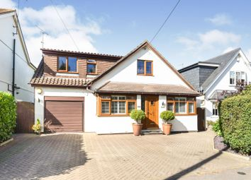 Thumbnail 4 bed detached house for sale in Rayleigh Road, Brentwood