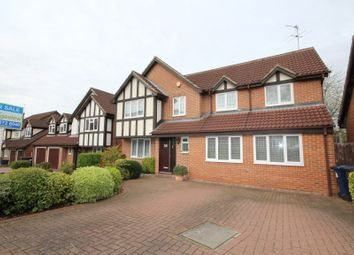 Thumbnail 4 bed detached house for sale in Priory Field Drive, Greater London