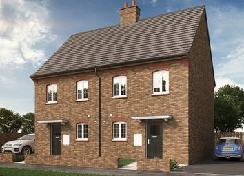 "Thumbnail 3 bed semi-detached house for sale in ""The Harlington"" at Park Crescent, Stewartby, Bedford"