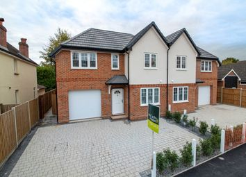 Thumbnail 4 bed semi-detached house for sale in Clarence Road, Fleet