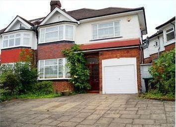 Thumbnail 4 bed semi-detached house to rent in Chandos Avenue, Southgate