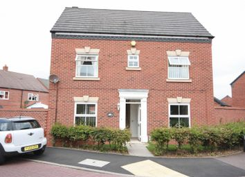Thumbnail 4 bed detached house to rent in Caterbanck Way, Lichfield