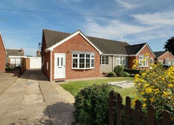 Thumbnail 2 bed semi-detached bungalow for sale in Hopfield, Hibaldstow, Brigg