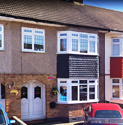 Thumbnail 3 bed terraced house to rent in South Hall Drive, Rainham, Essex