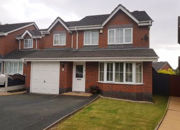 Thumbnail 4 bed detached house to rent in Woodside Road, Ketley, Telford