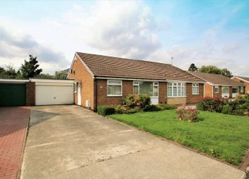 Thumbnail 2 bed semi-detached bungalow for sale in Uldale Drive, Egglescliffe, Stockton-On-Tees