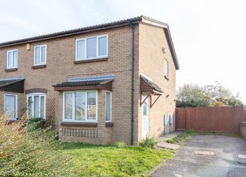 Thumbnail 2 bed semi-detached house for sale in Weldon Close, Wellingborough